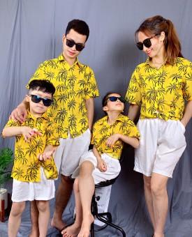Mẫu áo gia đình 2021